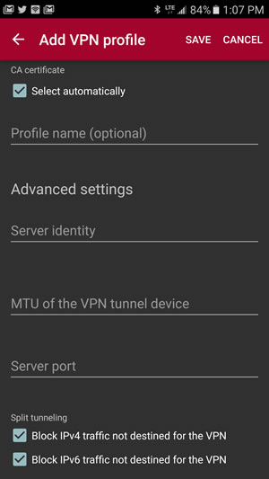 Android Setup Guide - Windscribe